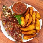 Menu Grill fish tilapia plantain 150x150